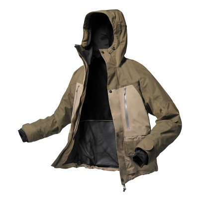 GEOFF Anderson Dozer4 Jacke | Farbe braun/grau