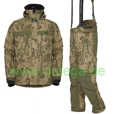 GEOFF Anderson Dozer 5 Jacke & Urus 5 Hose im Set | Farbe leaf