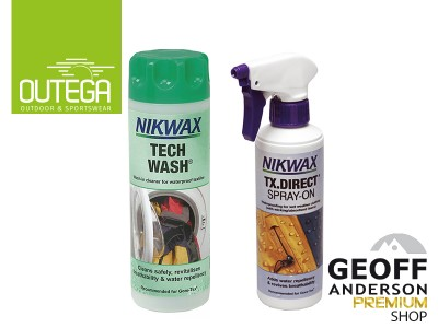 Nikwax Tech Wash & Imprägnierung Kombipack