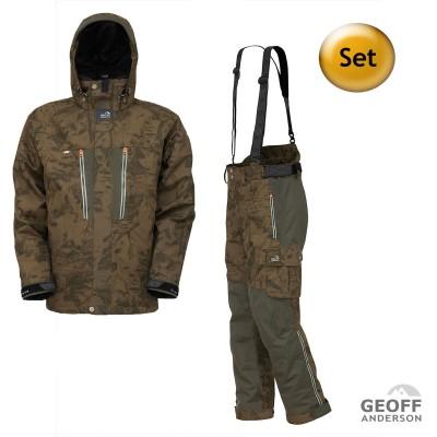 GEOFF Anderson Dozer 6 Jacke & Urus 6 Hose im Set | Farbe leaf