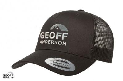 GEOFF Anderson Kappe Snapback schwarz